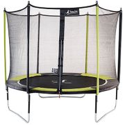 Kangui - Trampoline de jardin 305 cm + filet de sécurité JUMPI POP 300