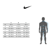 Sweat-shirt Nike Dry Training gris blanc