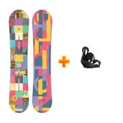 Pack Snowboard Burton Feather 2017 Femme 2nd Et Fixations Burton Citizen 2019 Taille M