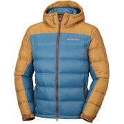 Veste hiver Quantum Voyage Hooded Jacket (Blue Heron, canyon gold ) Columbia