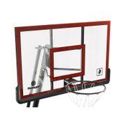 Panier de Basket Ball Pro Deluxe - Swager Platinium - Hauteur réglable de 230cm à 305cm