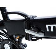 Moma Bikes Vélo Electrique VAE Pliant De ville, E-16TEEN, Aluminium, Bat. Ion Lithium 36V 9Ah