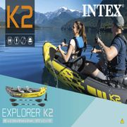 Intex Kayak gonflable Explorer K2 312x91x51 cm 68307NP