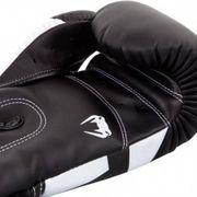 Gants de boxe Elite cuir skintex noir/blanc Venum Taille - 12oz