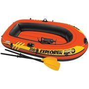 Avirons Magnifique Set bateau gonflable avec rames + pompe Intex Explorer Pro 200 58357NP