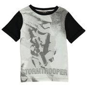 T-shirt à Manche Courte Ras du Cou Imprimé Star Wars