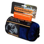 Camping et randonnée Splendide Serviette-éponge microfibre Travelsafe TS3101 bleu royal taille L