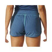 Short Bleu Aeroknit Entrainement Femme Adidas