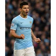 Maillot domicile Manchester City 2013/2014 Agà¼ero-S