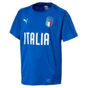 2018-2019 Italie Puma Maillot d'entrainement (Blue) - Enfant