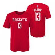 T-shirt NBA James Harden Houston Rockets Rouge pour enfant taille - M (135-155cm)