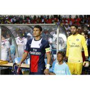 Maillot domicile authentique PSG 2013/2014 T.Silva