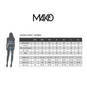 Haut de maillot de bain Mako Sunkissed Hawaiian noir femme