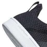 Chaussures adidas neo Cloudfoam Advantage Adapt noir gris foncé
