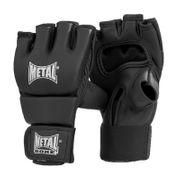Mitaines MMA Pancrace Mat noir METAL BOXE