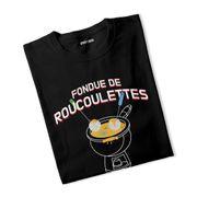 T-shirt fille Fondue de Roucoulettes