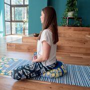 Coussin de méditation - Zafu CAPRI