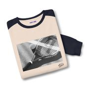 Sweatshirt bicolore Black & White Art x Tennis