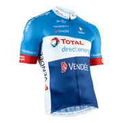 Maillot Team Total Direct Energie 2019 manche courte bleu