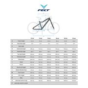 Vélo VTT Felt Dispatch 7 / 60 blanc gris mate turquoise