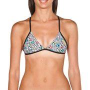 Haut de maillot de bain Arena Triangle Feel blanc multicolore femme