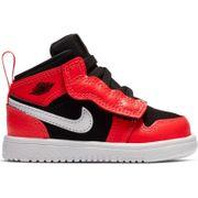 Chaussure de Basket Air Jordan 1 Mid ALT TD Orange pour bébé Pointure - 17