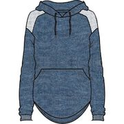 Hurley Dri-Fit United Pullover Fleece Cerulean Htr XS