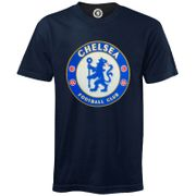 Chelsea FC officiel - T-shirt de football pour enfant - avec blason officiel