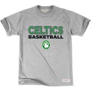T-Shirt NBA Boston Celtics Mitchell & ness Pure Shooter Gris pour Homme Taille - S