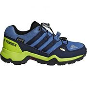 Adidas - Terrex Gtx Enfants chaussures de randonnée (bleu / jaune)