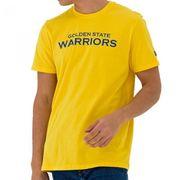 T-Shirt NBA Golden State Warriors New Era Team Apparel Pop jaune pour Homme taille - XL
