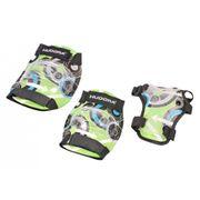 Hudora Green Style - Set De Protection Taille M - Vert