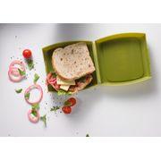 Fuel - Boite à Sandwich - Contenant à repas - Idéal pour un Picnic ou au Bureau - Utilisation Durable par Tous les Temps - Facile d'utilisation