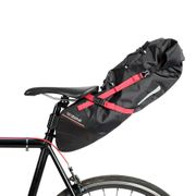 Sac de selle Zéfal Z Adventure R17 Imperméable noir rouge