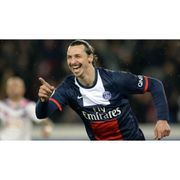 Maillot domicile PSG 2013/2014 Ibrahimovic