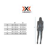 T-shirt X-Bionic Invent Round Neck manche courte blanc noir femme