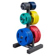 Porte-arbre et porte-barre de poids olympique Body-Solid