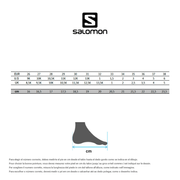 Chaussures Salomon XA PRO 3D Junior noir vert foncé enfant