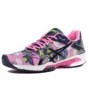 Gel Solution Speed 3 Femme Chaussures Tennis Rose Asics