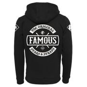 Sweat Capuche Famous Stars and Straps Chaos Zip Hoody Noir