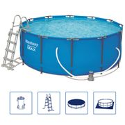 Bestway Ensemble de piscine Steel Pro MAX Rond 56420