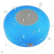 Mini Enceinte Waterproof avec ventouse couleur - Bleu