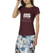 T-shirt femme Keep Calm & Play Handball