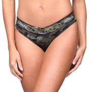 Culotte femme Calvin Klein Qf4950e Bikini 8vx Camouflage
