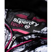Superdry Technical Hooded Print Pop Zip Windcheat