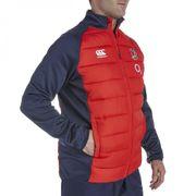 2015-2016 England Rugby Presentation Jacket (Red)