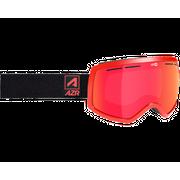 AZR Rider Rouge Mat Full Gris Miroir