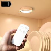 Lumières de la nuit-CL037 0.5W LED Night Light Infra-rouge télécommande alimenté par batterie Mur de nuit NightLight, télécommande Dstance: 3-5m Couleur de la lumière: Lumière chaude