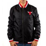 Bomber NBA Chicago Bulls New Era Team Apparel Varsity Noir pour Homme Taille - L