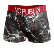 No Publik - Boxer Homme Microfibre Resident Evil Umbrella Army